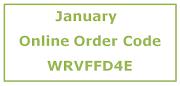 January Online Order Code