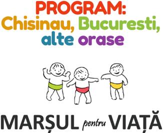 Programul Marșului pentru Viață 2018 la Chișinău, București și în orașele din România