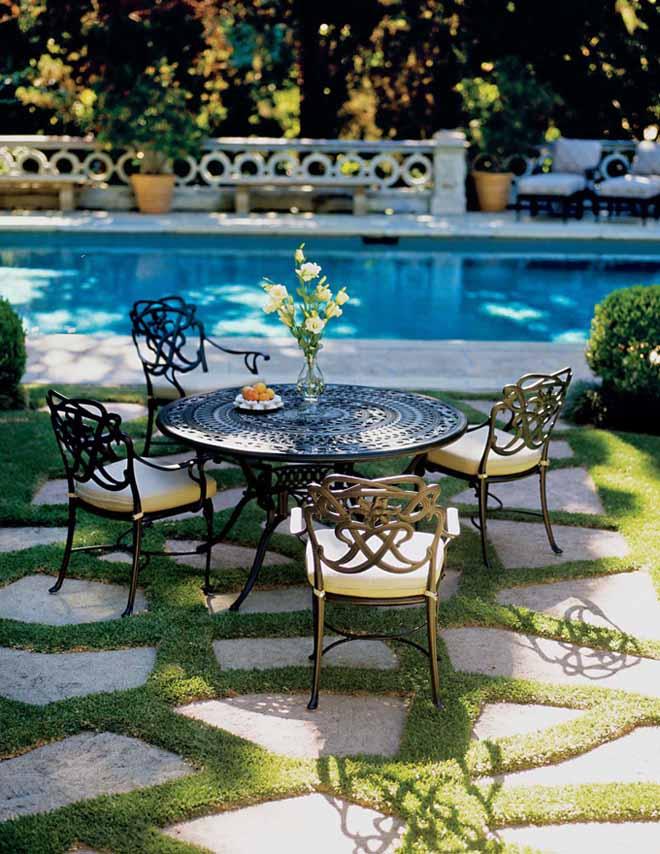 Rustik chateaux 8 modelos de muebles de hierro para el - Mobiliario de jardin ...