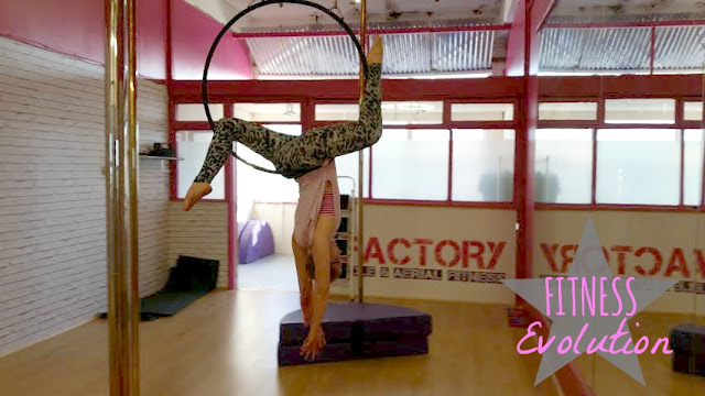 fitness evolution my general life aerial hoop yoga weightlifting