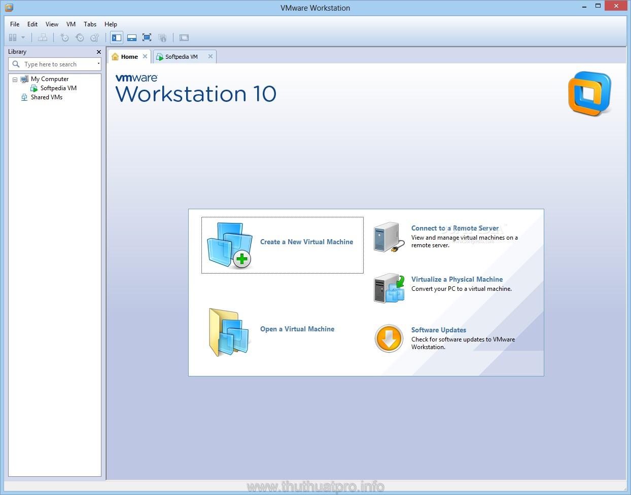 VMware Workstation 10 full key | Phần mềm tạo máy ảo số 1 thế giới