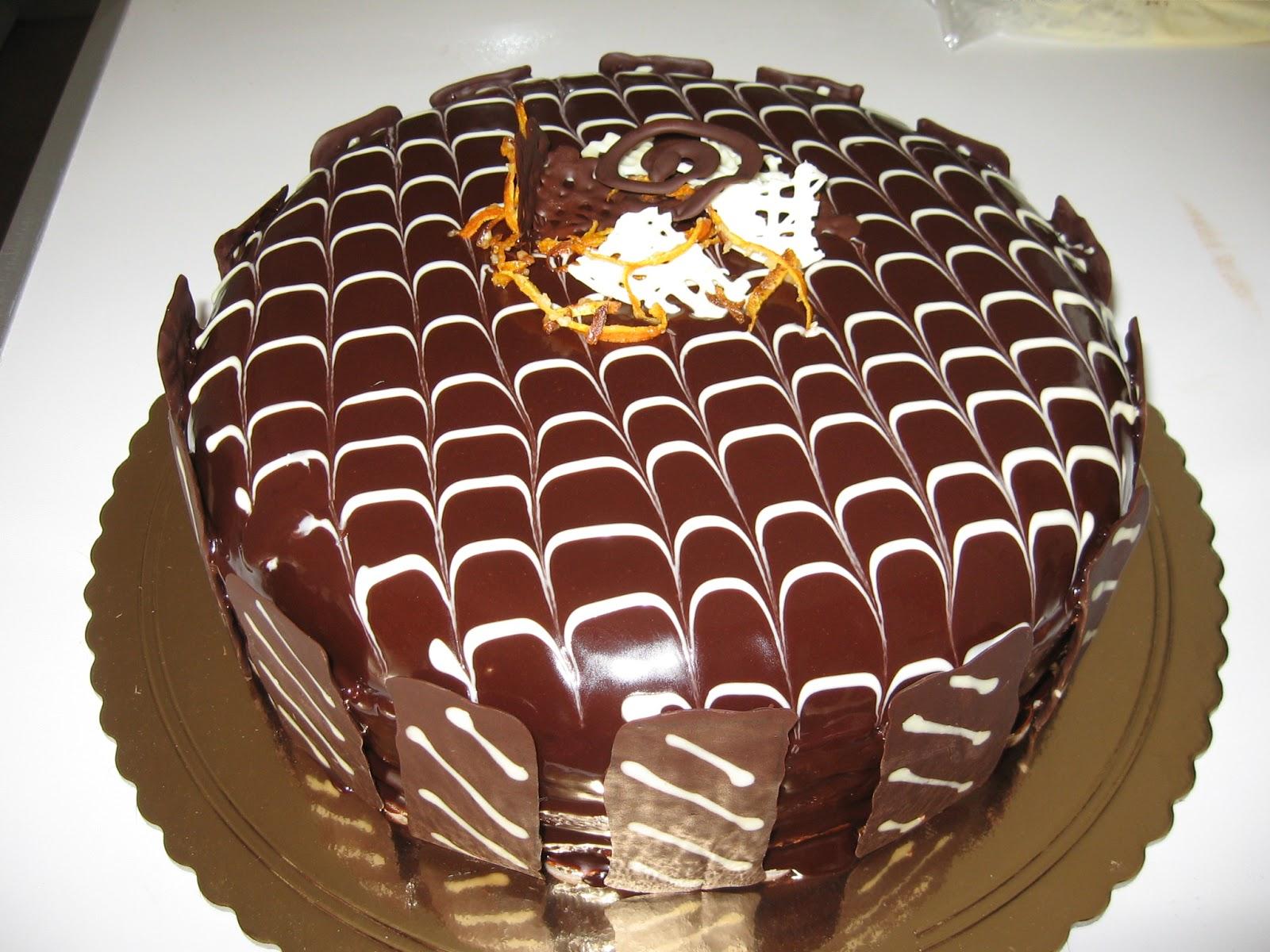 Che ne dici dolcetto torte con glassa al cioccolato - Decorazioni torte con glassa ...