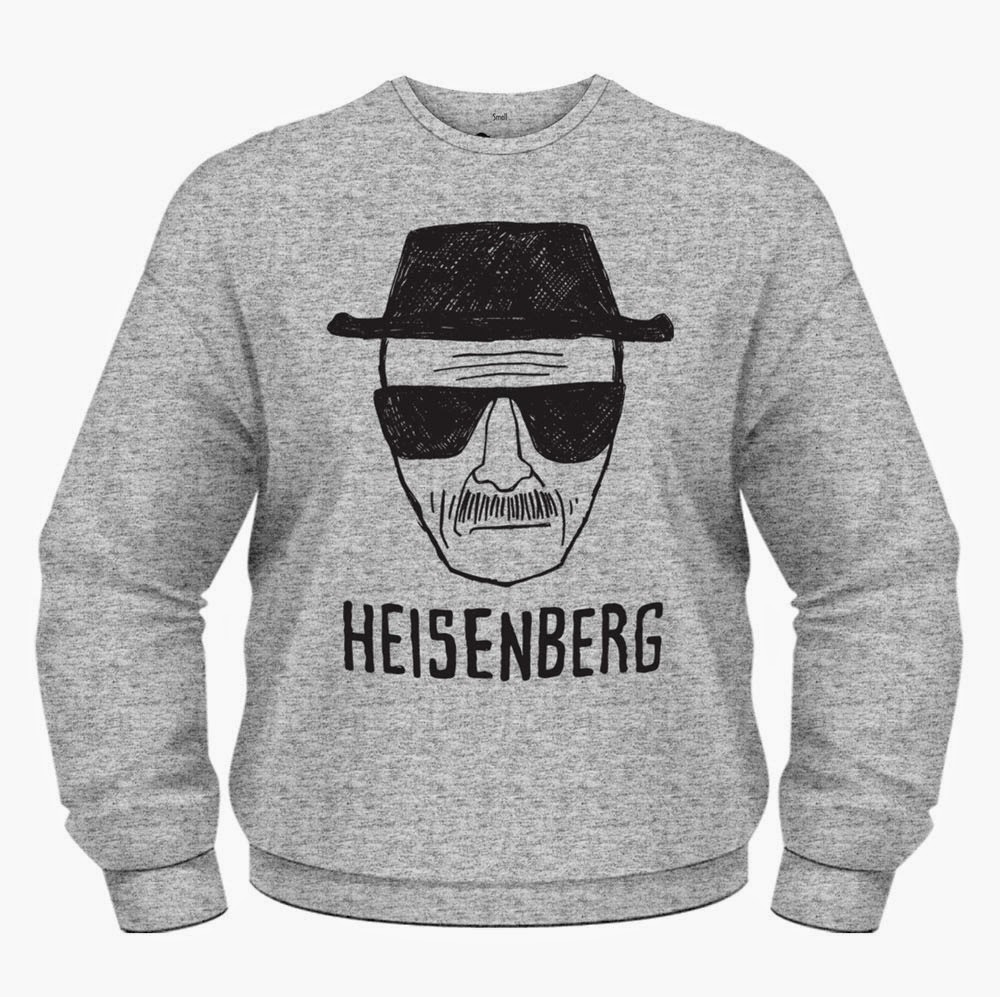 Sudadera Heisenberg Breaking Bad