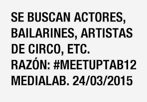 24 de marzo en MediaLab-Prado #Madrid