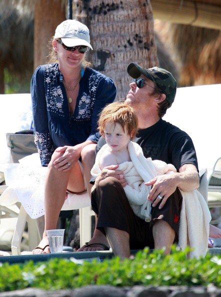 Julia Roberts and Danny Moder's beby Phinneas Moder