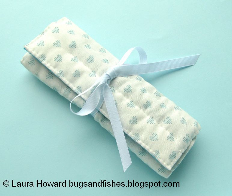 Bugs And Fishes By Lupin How To Sew A Crochet Hook Roll