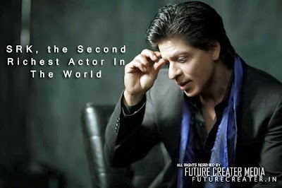 SRK Become The Second Richest Actor In The World | SRK is richer than Tom Cruise in Hollywood-Bollywood rich list