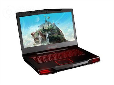 New Alienware M15x and M17x laptops