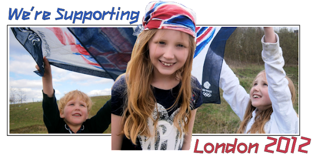 supporting team gb olympics 2012 london children flag scarves
