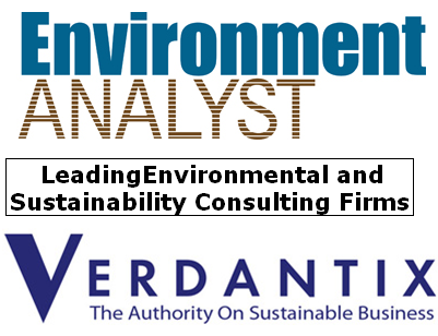 sustainability consulting firms environmental analyst and verdantix
