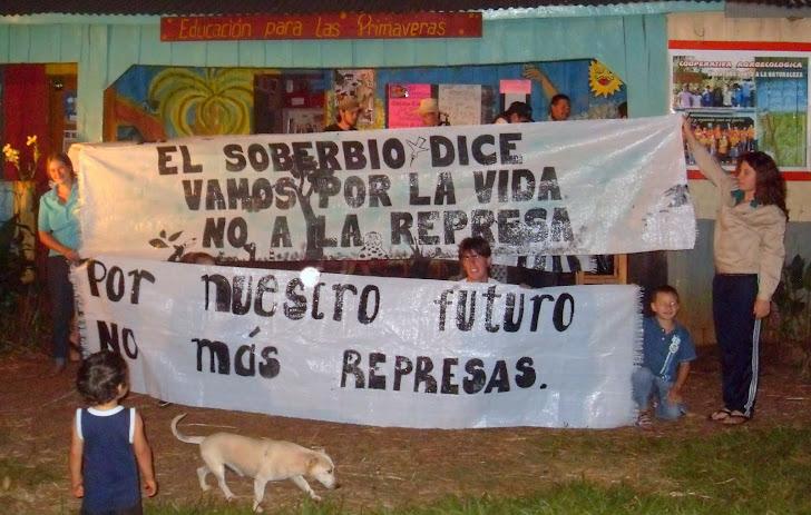 NO a la represa Garabí
