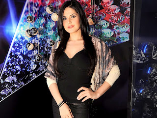 Zarine Khan at promotion of Housefull 2 photo