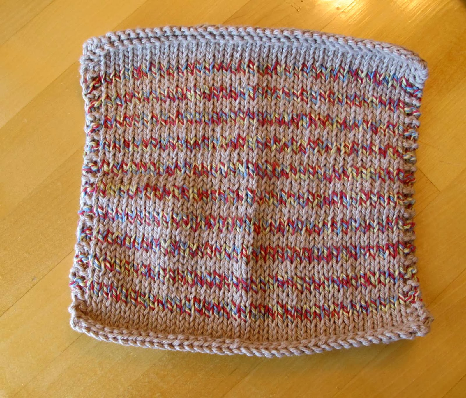 Farmhouse Kitchen Knitted Dishcloth: T. Matthews Fine Art: Knitting Journal