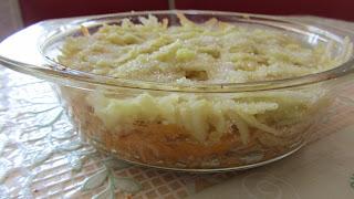 десерт готов к запеканию
