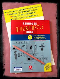 Redhause Quiz&Puzzle Book Dergisi, dergi, Redhause Quiz&Puzzle Book 1
