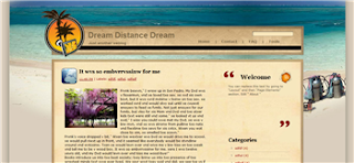 Dream Distance Dream Blogger Template