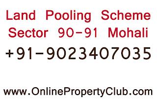 `Gmada Sector 90 91 Plots, land pooling scheme plots buy sell