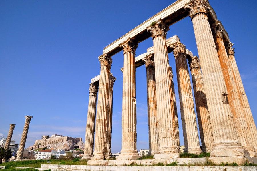 El Templo de Zeus de Atenas