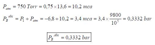 Ejercicio resuelto de estatica de fluidos manometro y vacuometro formula 2 problema 3