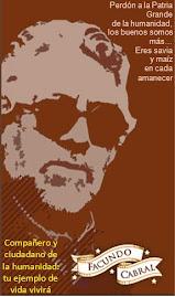 Facundo Cabral vive en cada corazón revolucionario