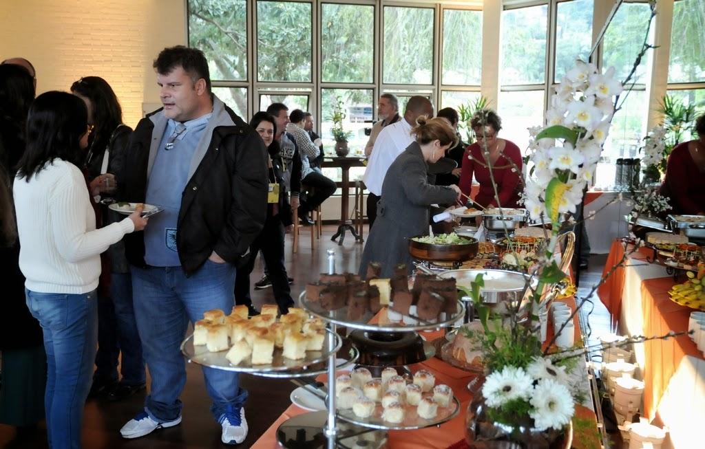 Um brunch marcou a confraternização entre os convidados