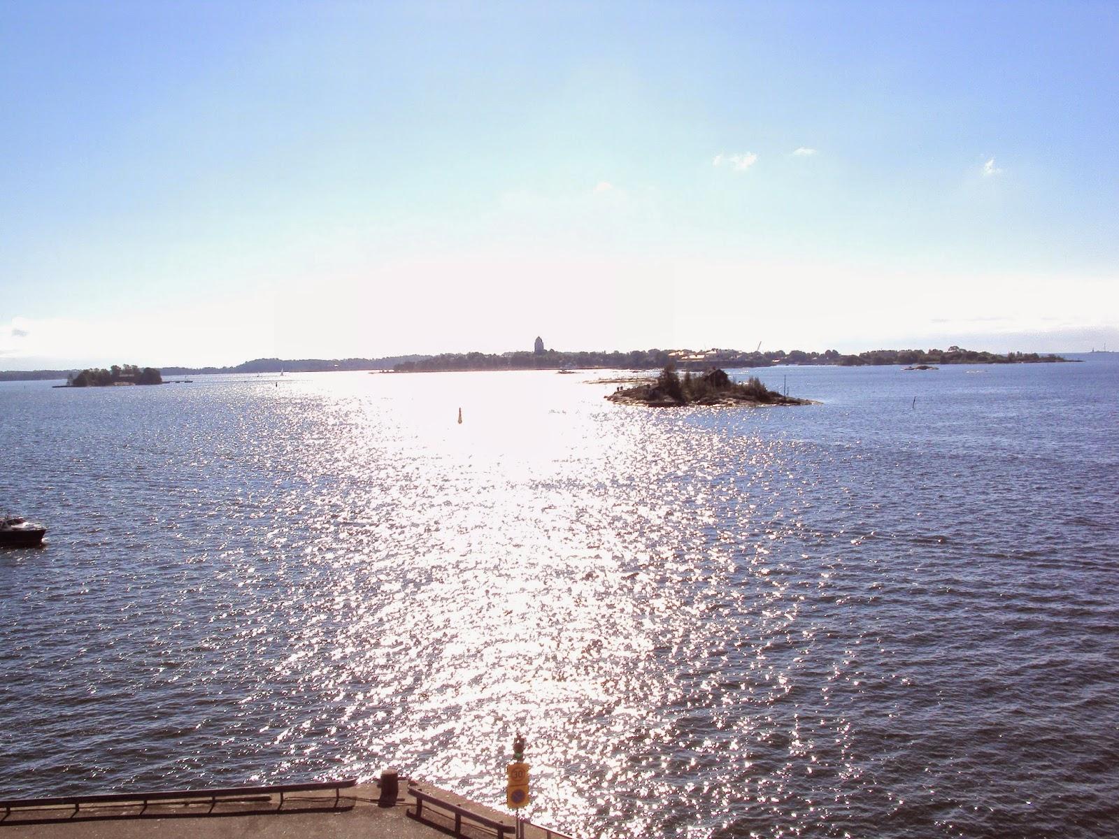 Viagem de barco para Tallinn - Estônia