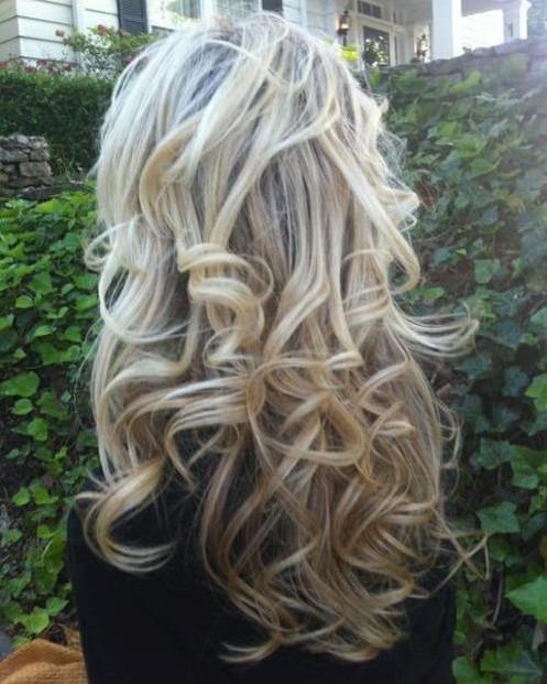 cabelo com  baby liss