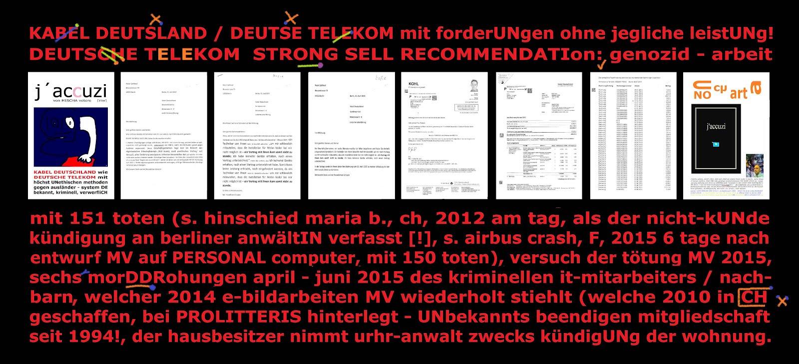 deutsche telekom kabel deutschland nigerianisch scam methoden fishing gegen ausländer mischa vetere