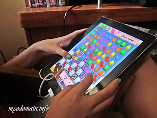 Mye Domain's They Go GAGA over Candy Crush Saga - My daughter just started to play Candy Crush Saga