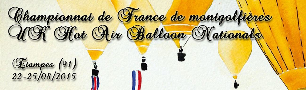 Championnat de France des Montgolfières 2015 / UK Nationals