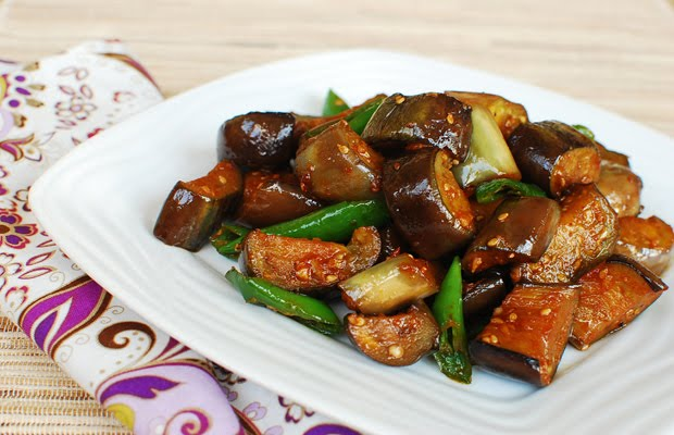 Stir Fried Eggplant