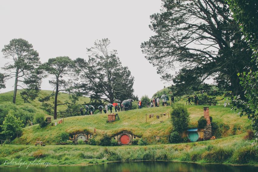 Hobittila Uusi-Seelanti Tolkien