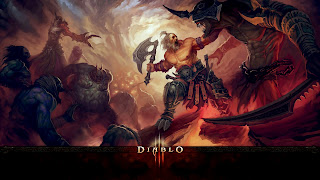 Diablo 3 Characters Barbarian HD Desktop Wallpaper