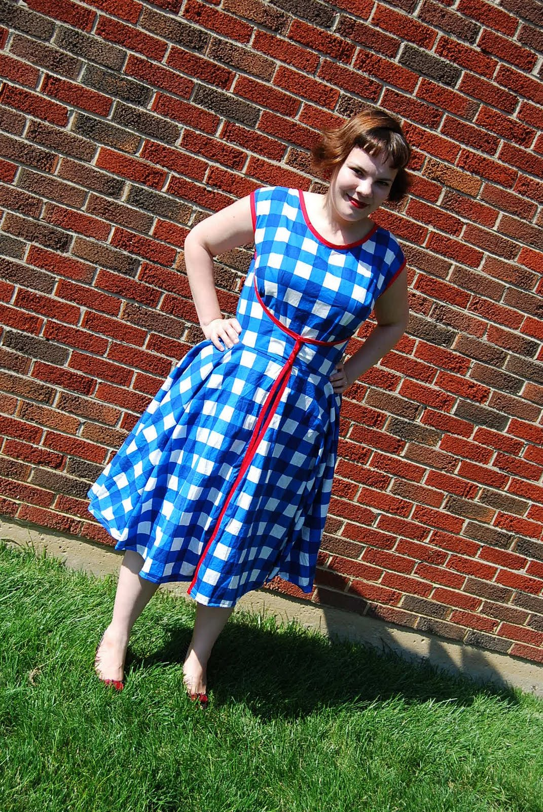 Summer dress girl pattern ease