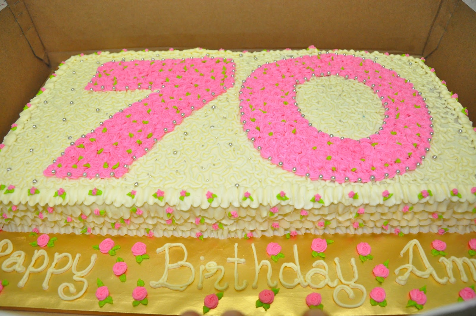 Applemint Cake Shop Ipoh 70th Birthday For Mum