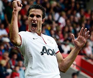 Robin van Persie, Manchester United striker