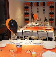 decoração da festa de aniversário