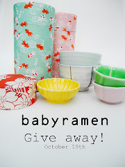 Give away hos Baby ramen