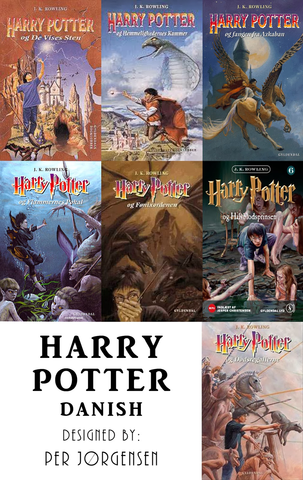 Harry Potter Book Year ~ See harry potter book covers through the years books