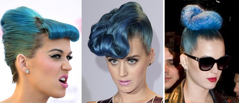 claudinha stoco penteados katy perry Katy Perry e os seus penteados malucos!