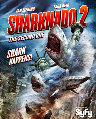 Sharknado 2: A Segunda Onda – Dublado (2014)