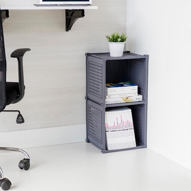 Kit com 2 Nichos Organizadores de ambientes