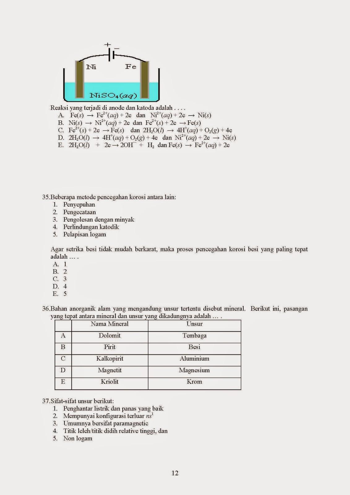 Guru Kimia Tryout Un Kimia 01