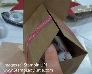 Make&Take Box Project from Stampin'UP! Convention 2012 Ribbon Trick