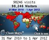 Besøg 31.3.2010 - 1.4.2012