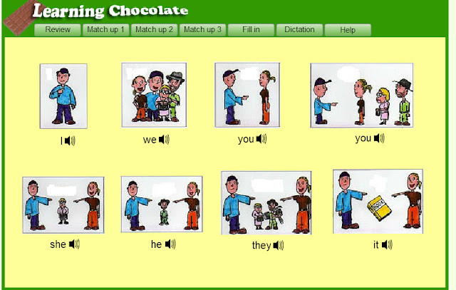 MilpitasChat.com: Learning Chocolate Personal Pronouns