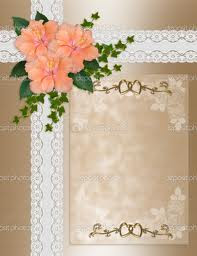 Wedding Invitation Background Pictures
