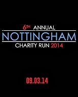 6th Nottingham Charity Run 2014