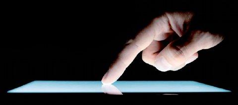 Signature sur tablette