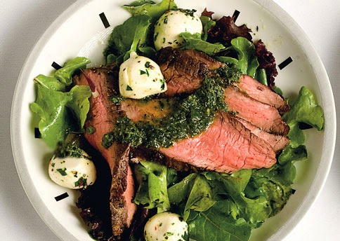 Chopped Steak Salad Recipe
